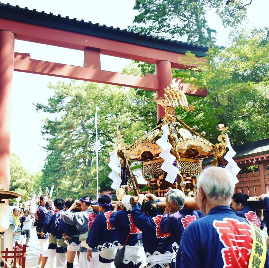 氷川神社例大祭