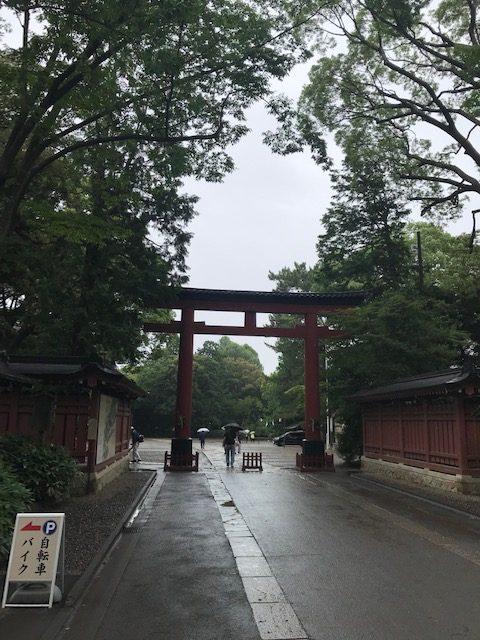 氷川神社 一の鳥居