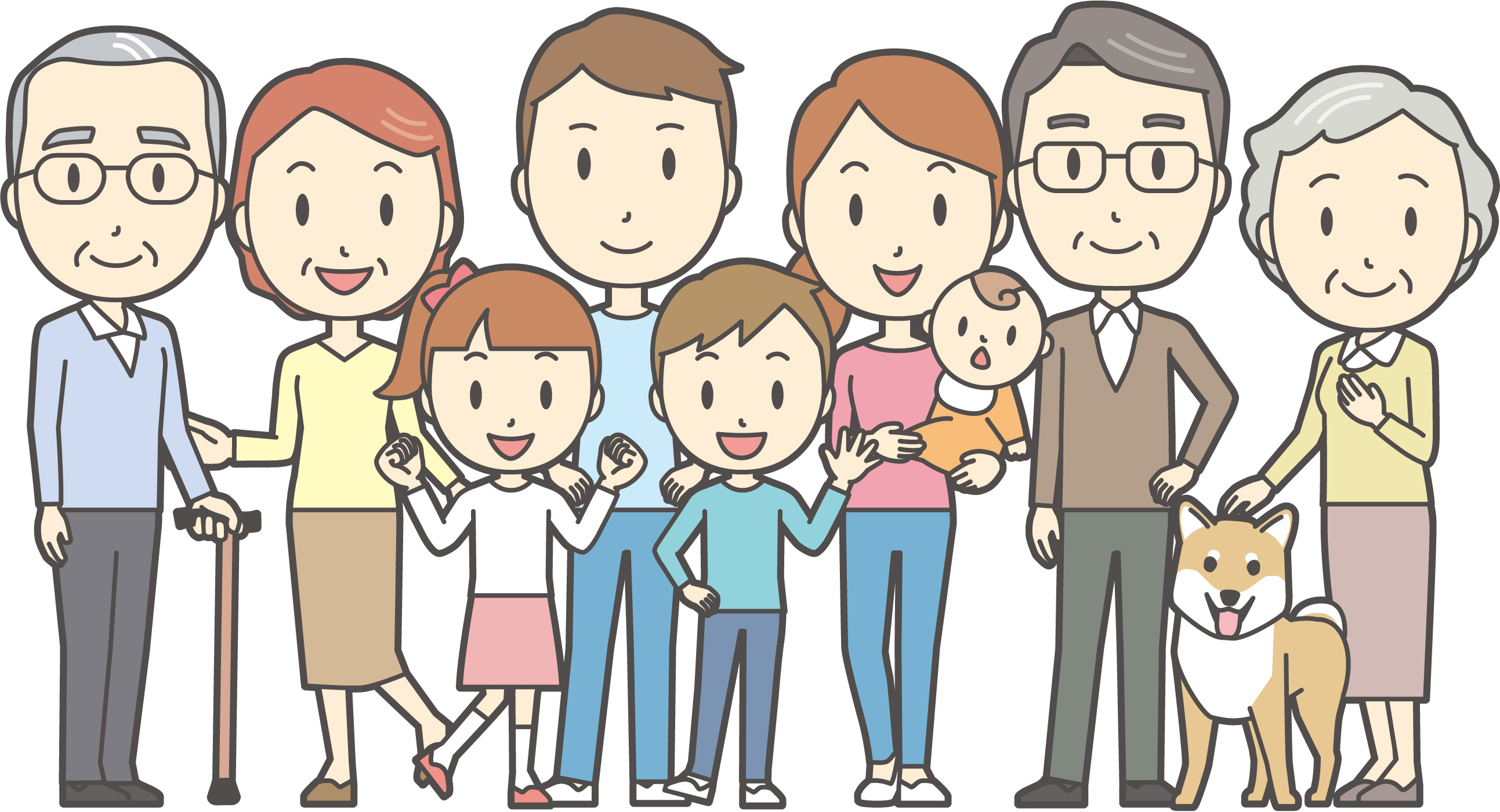 円満な家族