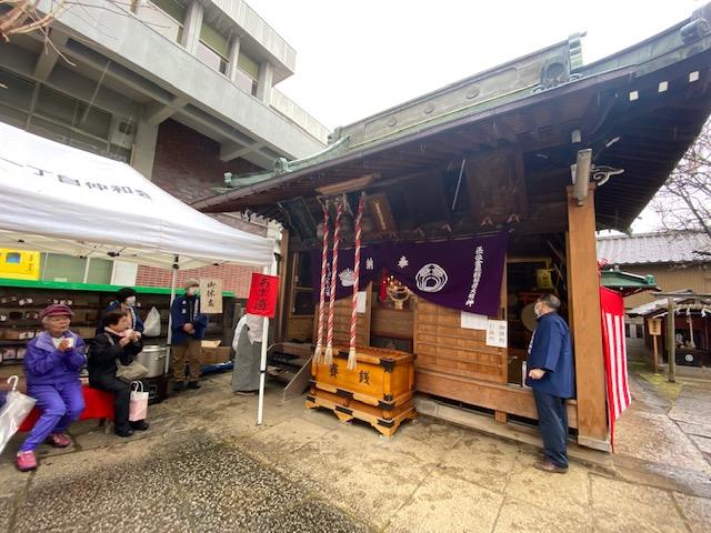 大宮倉屋敷稲荷神社 初午祭